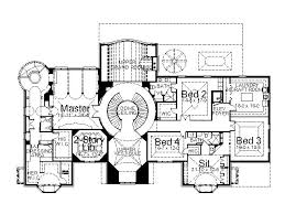 european house plan with 5 bedrooms and 4 5 baths plan 6140