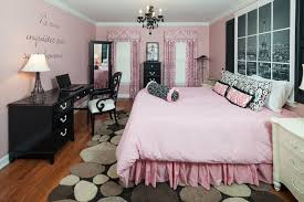 White Black And Pink Bedroom Bedroom Design Nice Paris Theme Bedding In White Black Matched