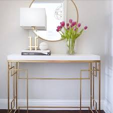 Foyer Console Table And Mirror Foyer Console Table Freda Stair