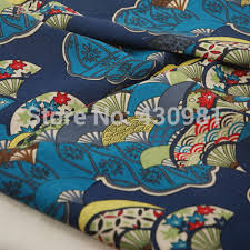 aliexpress com buy fans print fabric japan ethnic kimono dress