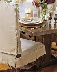 Dinning Chair Covers White Elegant Dining Chair Slipcover Armless Chair Slipcovers