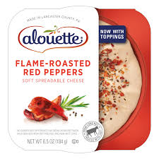 alouette cuisine roasted peppers spreadable cheese alouette cheese