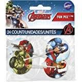 amazon com avengers assemble edible cupcake toppers decoration