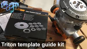 templates for routers triton router 12pce template guide kit initial impressions