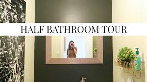 small bathroom tour 2017 before and after simple decorating