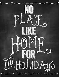 chalkboard idea no place like home for the holidays or
