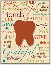 thanksgiving traditional laser cards smartpractice dental