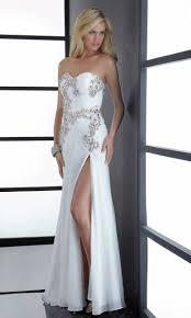 32 best white prom dresses images on pinterest white prom