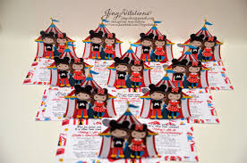 custom circus invitations birthday and baby shower invitations mickey and minnie mouse