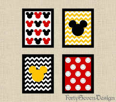 Mickey Mouse Room Decor Mickey Mouse Bedroom Photo Gallery Of Mickey Mouse Wall Decor
