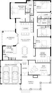 island hampton single storey floor plan wa houses pinterest