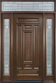 Single Door Design by Interior Brown Modernstained Solid Wood 9 Panel Single Door With