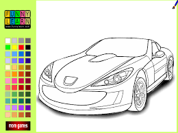 coloring fascinating cars coloring games cars coloring