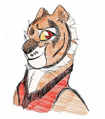 teen tigress phone sketch by wolf chalk on deviantart