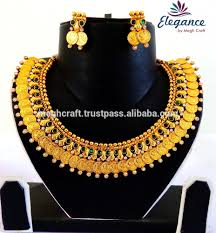 south indian lakshmi coin jewellery set wholesale one gram gold