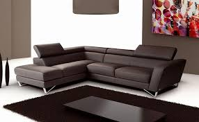 Italian Sectional Sofas by Sparta Chocolate Italian Leather Sectional Sofa By