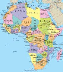 africa map atlas 1 map of africa showing the location of uganda source world