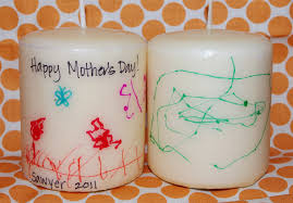 s day gift ideas from last minute s day gift kids artwork candles happiness is