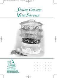 steam cuisine vitasaveur manuel seb vitasaveur ultra compact et notice vitasaveur ultra compact
