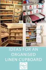 ideas for an organised linen cupboard blog home organisation the