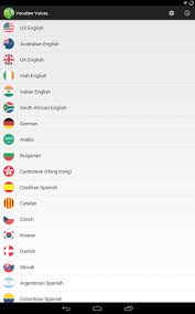 text to speech engine apk vocalizer tts voice 2 0 8 apk android 4 0 x