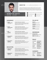 Clean Resume Template Word 100 Free Resume Templates Psd Word Utemplates