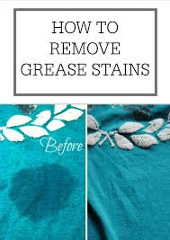 Dryer Leaves Marks On Clothes How To Remove Grease Stains U2013 Simple Homemaking