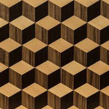 3d wood turgon wood flooring panel 3d cube