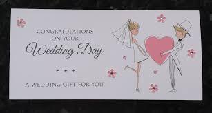 wedding gift card wedding money gift voucher wallet style 1 paper chic