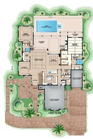 beach style house plan 5 beds 6 50 baths 8791 sq ft plan 27 468