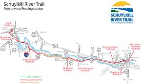 Reading Pennsylvania Map by Pottstown To Reading U2013 Schuylkill River Trail