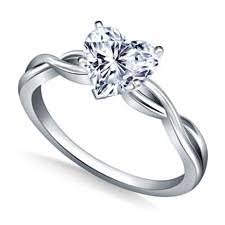 heart shaped diamond engagement ring heart engagement rings info on diamonds quality value