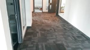 carpet tile fitted by one step ahead flooring contractors cardiff