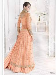 color indian ethnic designer bollywood party wear anarkali
