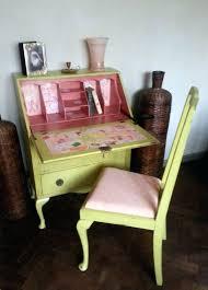 desk for 6 year old desk writing desk bureau vintage vintage shabby chic hand painted