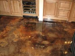 surprising stained concrete basement floor ideas photo design