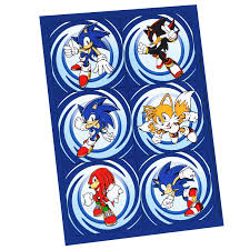 sonic the hedgehog party supplies sonic the hedgehog sticker sheets walmart