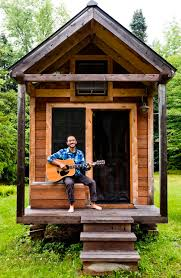 building a home in vermont living tiny ethan s tiny vermont abode home tour and then we