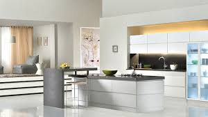 White Laminate Kitchen Cabinets Kitchen Awesome White Black Wood Glass Modern Design White