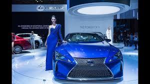 xe lexus lf lc lexus giới thiệu công nghệ lexus hybrid tại vms 2017 youtube