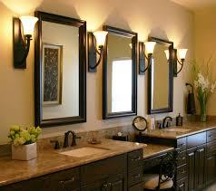 Bathroom Vanities Mirror Design Element Tustin 72 Inch Sink And Mirror Beveled