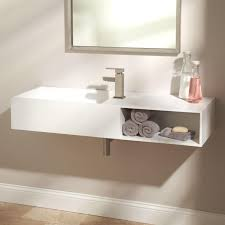 matte white sink signature hardware