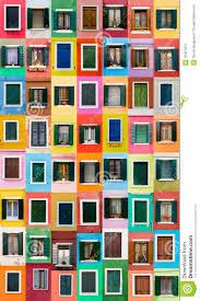 Burano Italy Burano Windows Italy Stock Photos Image 29367673
