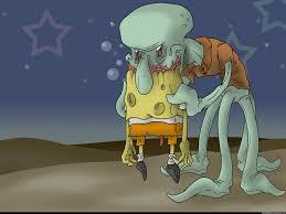 image squidward eating spongebob jpg creepypasta wiki fandom