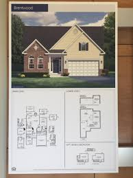 hoadly manor estates subdivision northern virginia realtors the brentwood floor plan by ryan homes at hoadly manor estates in woodbridge virginia in