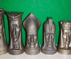 cast chess set 5 steps with pictures