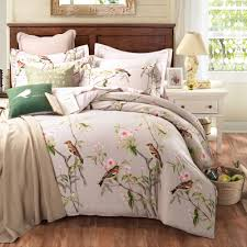 pastoral style 100 cotton bedding sets queen king size bed linen
