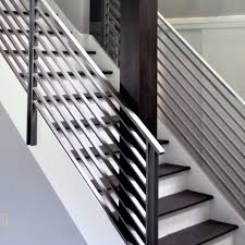 Banister Rail Stair Iron Handrails Modern Stair Railings Stairwell Railing