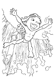 tarzan coloring pages free coloring book 5661