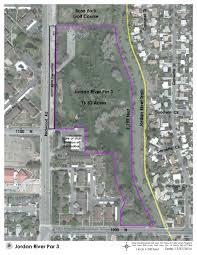 Jordan River Map Jordan River Par 3 Project Salt Lake City The Official City